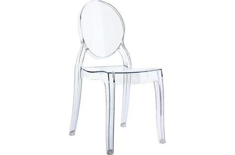 Chaise Elizabeth Transparente by Chaise Plexi Transparent Baby Elizabeth Design Sur Sofactory