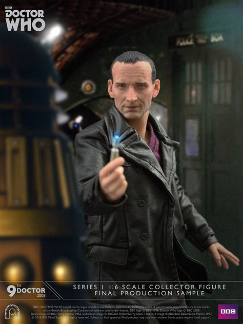 doctor who the ninth doctor joins big chief studios doctor who family