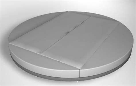 circle platform bed circular platform bed that makes a geometric statement