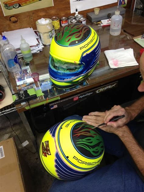 qma design helmet long pays tribute to tony renna patrick long