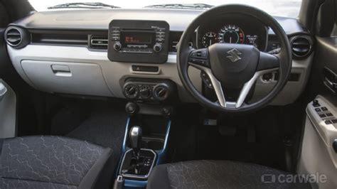 plus delta car interior design maruti suzuki ignis 1 3 diesel automatic first drive