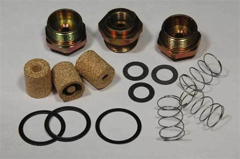 1969 71 Six Pack Holley Fuel Inlet Kit 15pc New Does 3