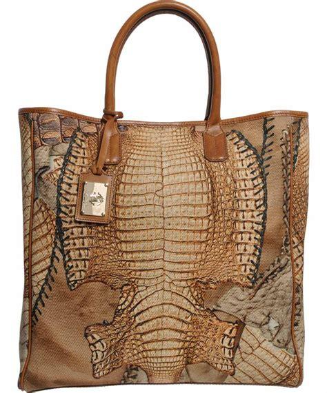 Roberto Cavalli Zebra Print Drawstring Bag Purses Designer Handbags And Reviews At The Purse Page by Roberto Cavalli Crocodile Printed Patchwork Shopper