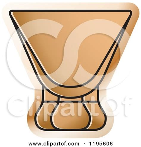 cosmopolitan clipart clipart of a cosmopolitan cocktail glass royalty free