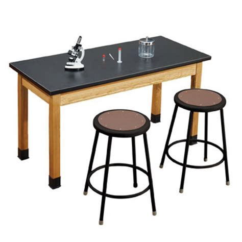 Science Tables And Stools by National Seating One Acid Resistant Science Lab
