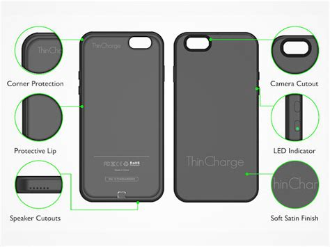 mactrast deals thincharge iphone 6 6s battery