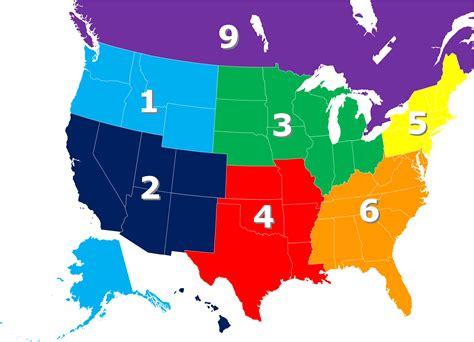 regions map acuia org