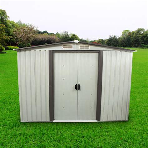 outdoor tool storage shed utility backyard garden