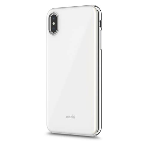 iphone xs max shop iphone protection white iglaze by moshi