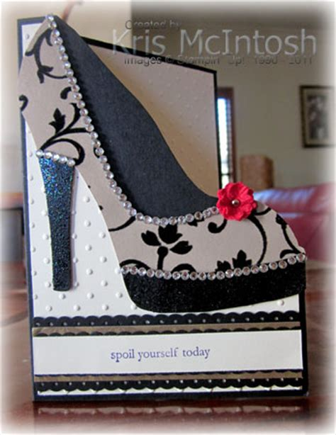 high heel template for cards a special birthday card sting with kris