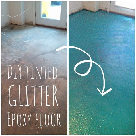diy turquoise glitter epoxy floor lola tangled retro whimsy home pinterest turquoise