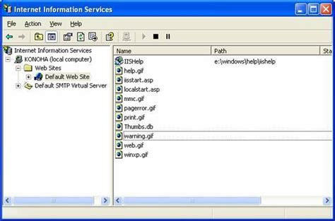configure xp as web server how to install iis and configure a web server in xp