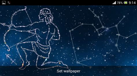 wallpaper bintang libra zodiac sagittarius live android apps on google play