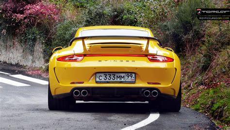 porsche 911 stinger stunning yellow porsche 911 carrera stinger by topcar