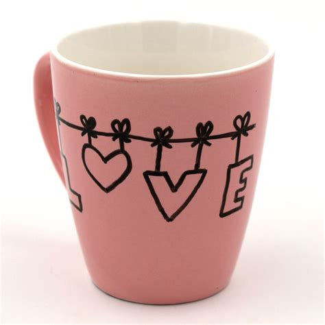 tassen bemalen ideen tassen bemalen mit porzellanstiften happy dings diy