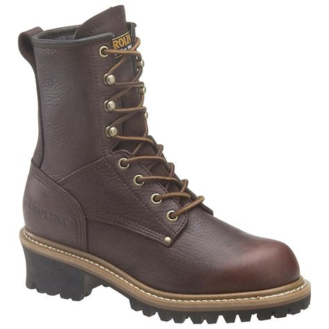 womans work boot s carolina 174 8 quot logger boots 166255 work boots at