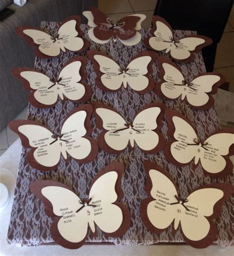 tutorial tableau albero tableau marriage pallet pizzo e farfalle wedding