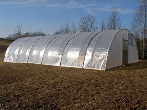 hoop house kits 16 x 96 ft quonset greenhouse kit hoop house cold frame high tunnel ebay