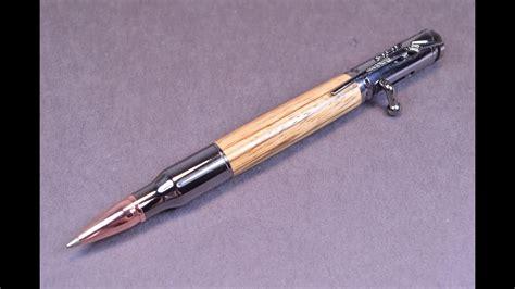 custom handmade zebra wood bolt action ink  youtube