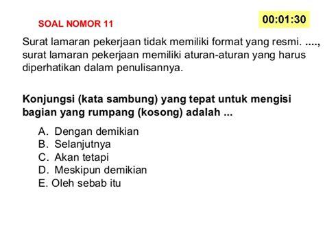 format naratif adalah soal bahasa indonesia kelas x kurikulum 2013