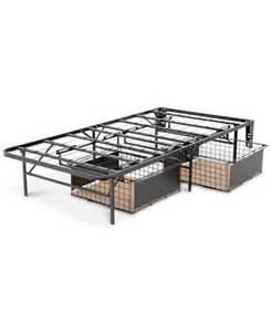 leggett and platt xl atlas metal bed base with