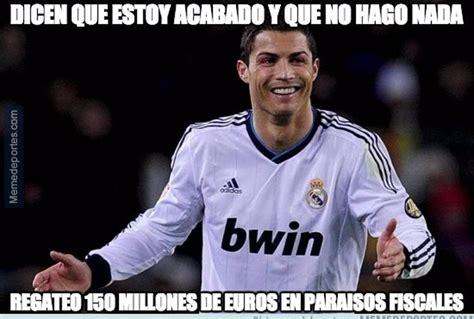 Memes De Cristiano Ronaldo - cristiano ronaldo hacienda y los memes del cl 225 sico
