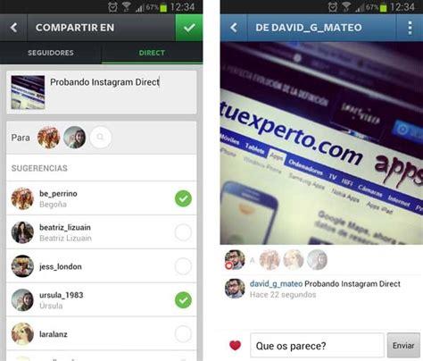 tutorial uso instagram qu 233 es y c 243 mo utilizar instagram direct tuexpertoapps com
