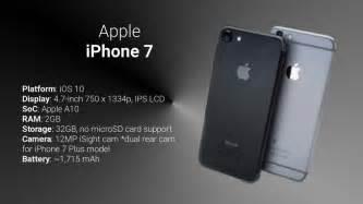 samsung galaxy note 7 vs apple iphone 7 7 plus preliminary specs comparison