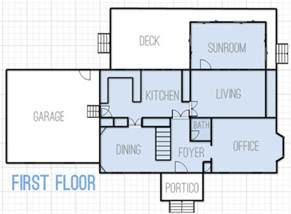 floorplan of a house drawing up floor plans dreaming about changes