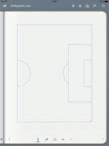 Soccer Pitch Template by Ipadpapers Soccer Pitch Paper Templates
