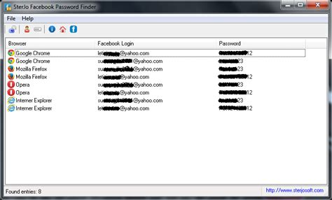 sterjo facebook password finder forgot facebook password