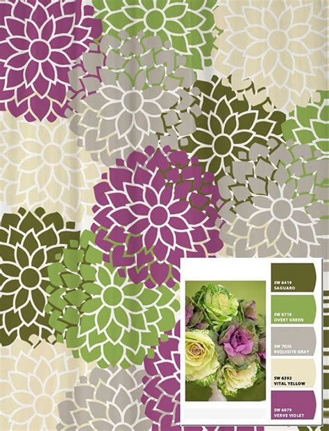 purple green shower curtain 25 best ideas about purple shower curtains on pinterest