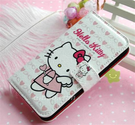Flip Cover Hellokitty Zenfone C buy wholesale hello side flip leather holster cover skin for iphone 5c white 05