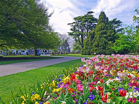 What Time Does The Botanical Gardens Spring Time In The Christchurch Botanic Gardens The