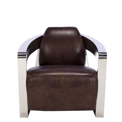 Easy Chairs For Living Room copeland leather easy chair vintage cigar chairs