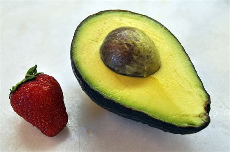 p fruits with seeds avocado strawberry salad hungry again