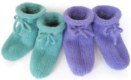 free knitted bed slippers patterns bed slippers knitkit morehouse farm