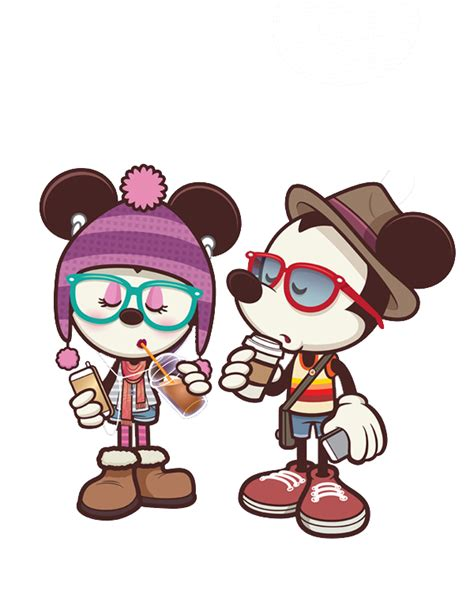 imagenes hipster mickey mickey and minnie hipsters png 1 by glorijadubravcic on