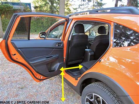 subaru crosstrek interior back 2015 subaru crosstrek research webpage premium