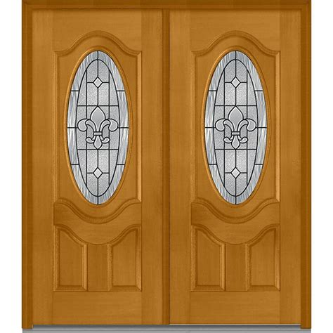 mmi door 74 in x 81 75 in classic clear glass 1 lite mmi door 74 in x 81 75 in carrollton decorative glass 3