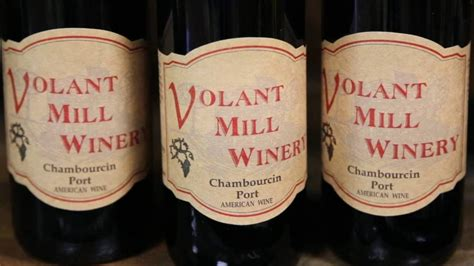 volant winery volant winery visit county
