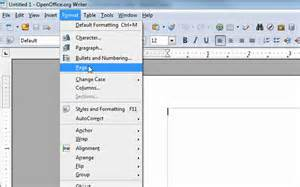 changing the margins in open office writer to be like ms