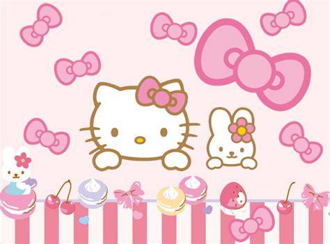 hello kitty new themes another hello kitty go keyboad skin android themes