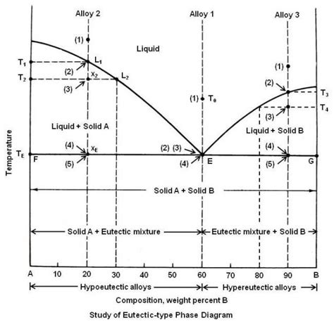Eutectic Point Phase Diagram
