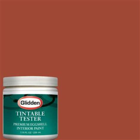glidden premium 8 oz cinnamon stick interior paint tester glo27 d8 the home depot