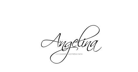 angelina name tattoo designs tattoo designs tattoo and