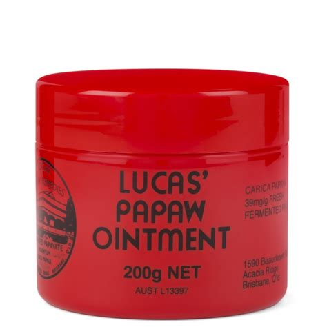 Lucas Pawpaw Ointment lucas papaw ointment 200g