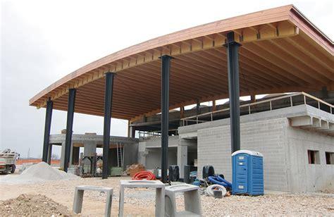 capannoni metallici sclauzero pilastri composti