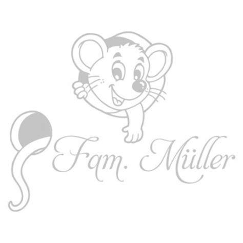 Briefkastenaufkleber Name by Briefkastenaufkleber Namen Dekoaufkleber Maus