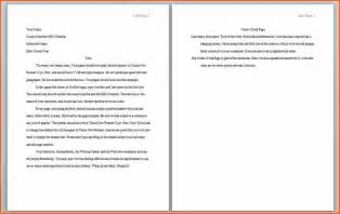 Apa Essay Format Template by Sle Of Apa Style Essay Research Paper Service